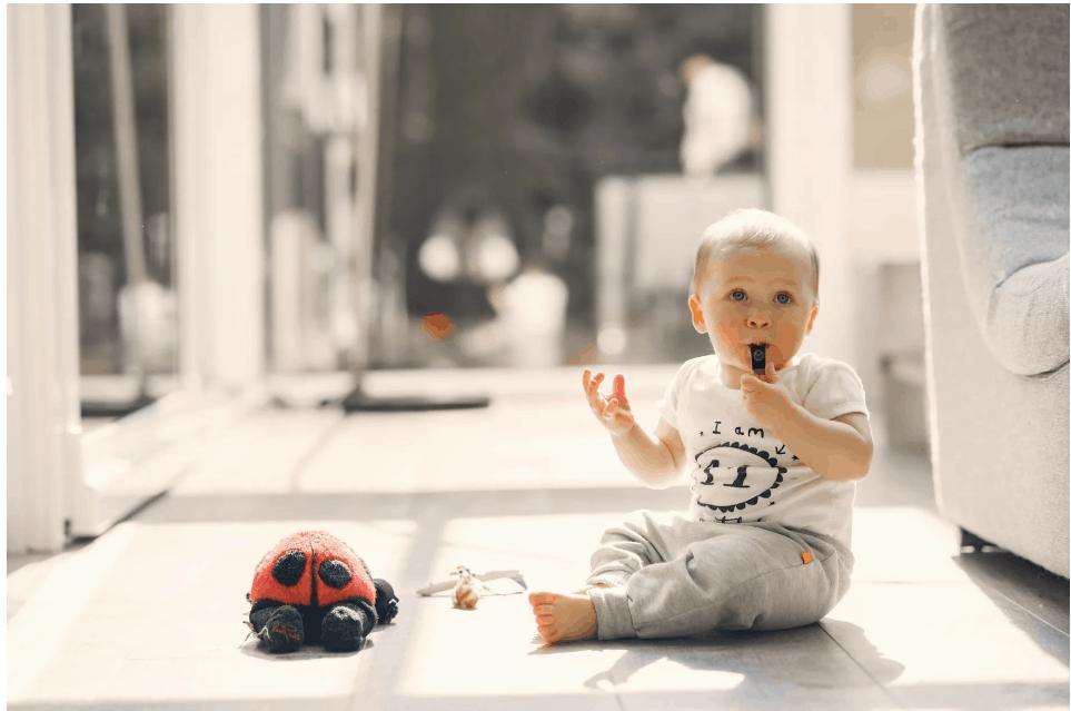 Homemade Sensory Development Toys for Babies - Whistle