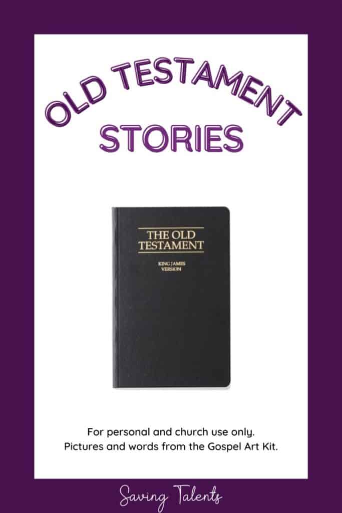 free printable quiet books for church - old testament