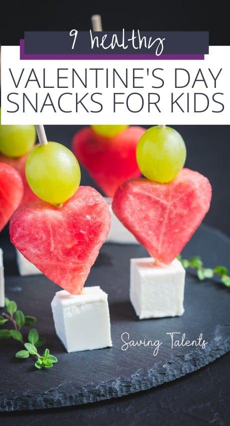 Healthy Valentine Snacks for Kids Story