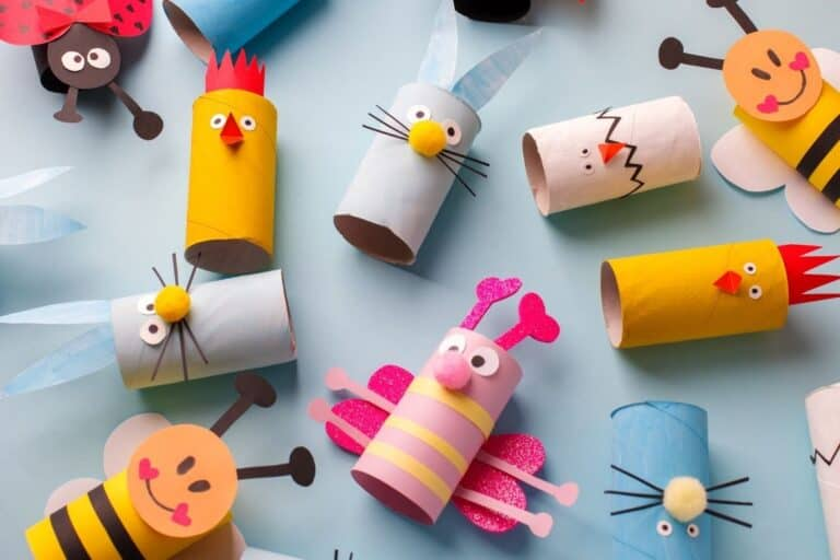 Toilet Paper Roll Crafts Based on Children's Books