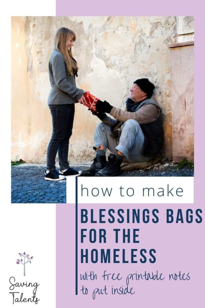How to Make Blessings Bags for the Homeless