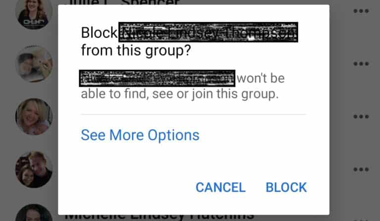 How to Block Anyone from a Facebook Group (even if they aren't in it)