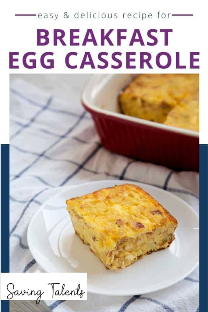Easy & Delicious Breakfast Egg Casserole