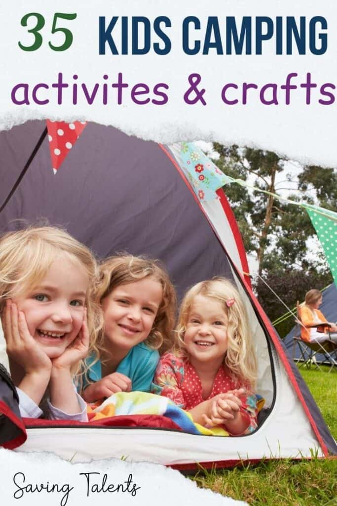 pin Camping Activities and Crafts for Kids