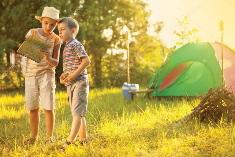 Camping Activities and Crafts for Kids