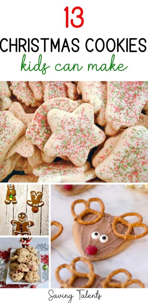 13 Cute Christmas Cookies Kids Can Make