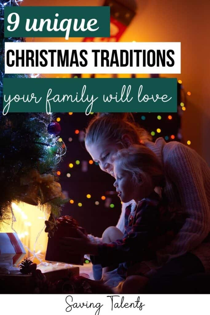 Unique Christmas Traditions to Make the Holiday More Meaningful