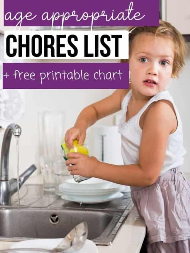 Age Appropriate Chores – webstory