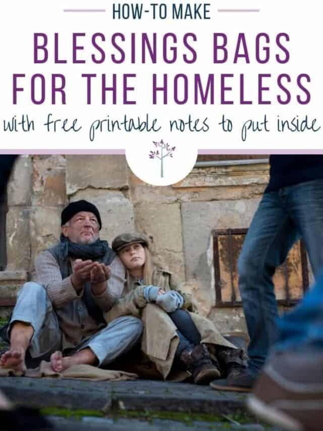 Blessings Bags for the Homeless – story