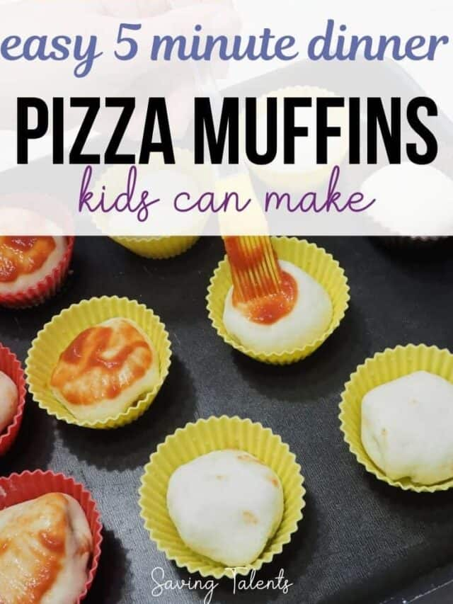 Easy Pizza Muffins – story