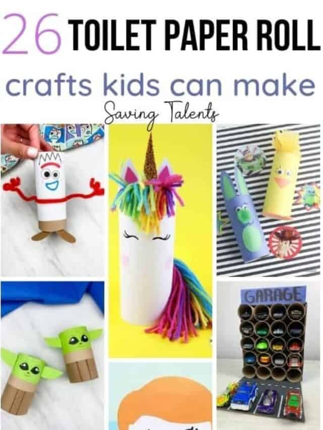 Toilet Paper Roll Kids Crafts – story