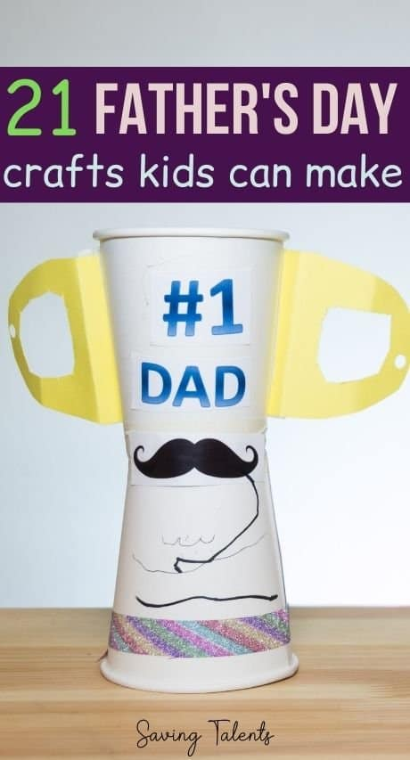 DIY Father's Day Crafts Kids Can Make as Gifts Story