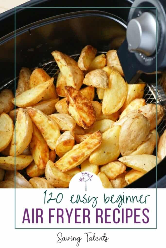 Easy Air Fryer Recipes for Beginners pin
