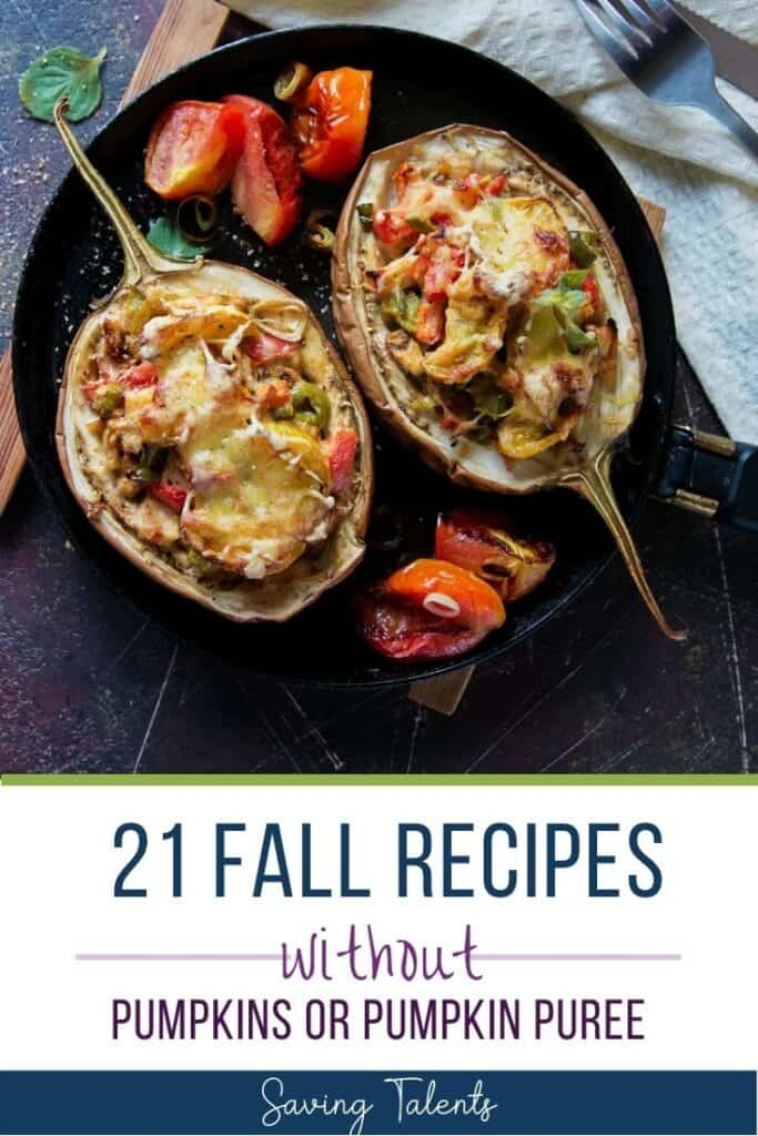 21 Fall Recipes Made Without Pumpkin