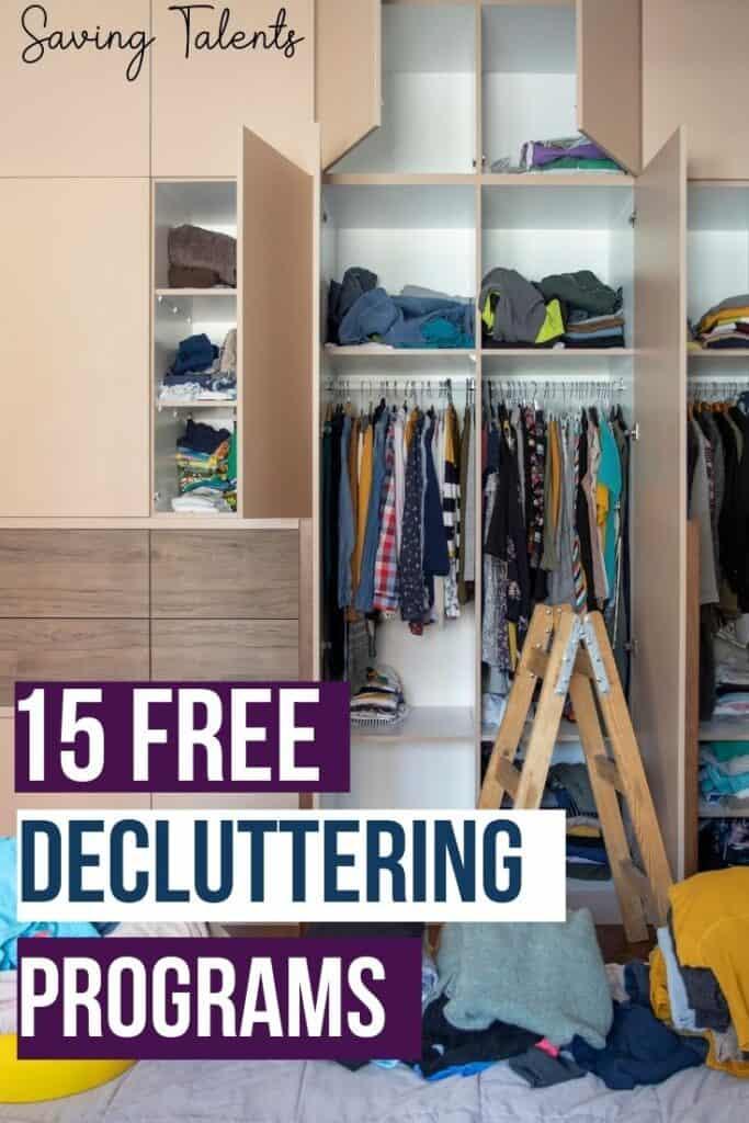 Free Decluttering Programs
