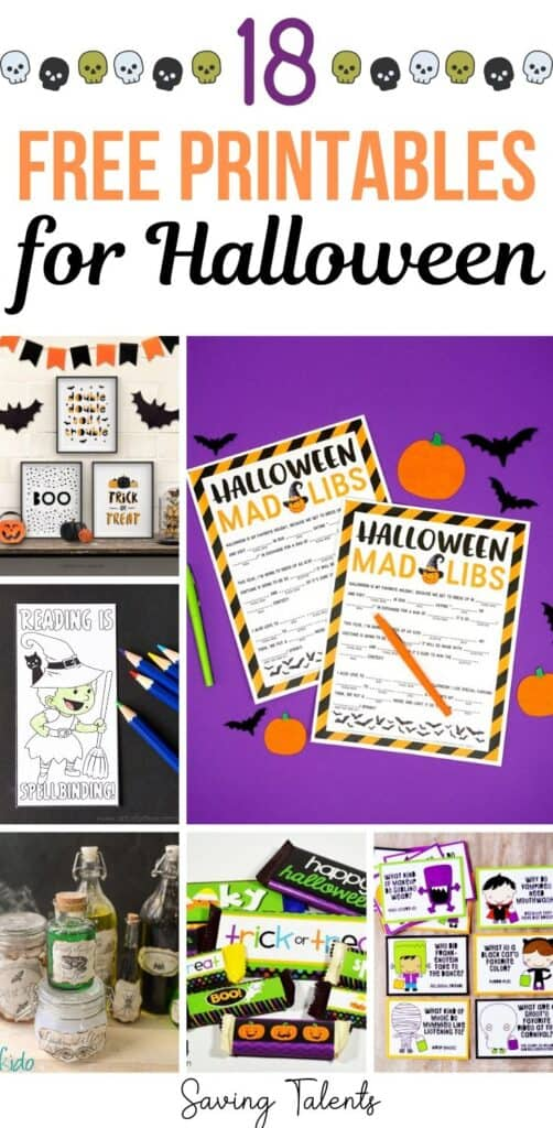 18 Fun and Free Halloween Printables