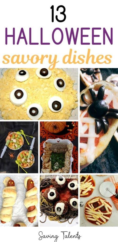13 Creative & Savory Halloween Dishes