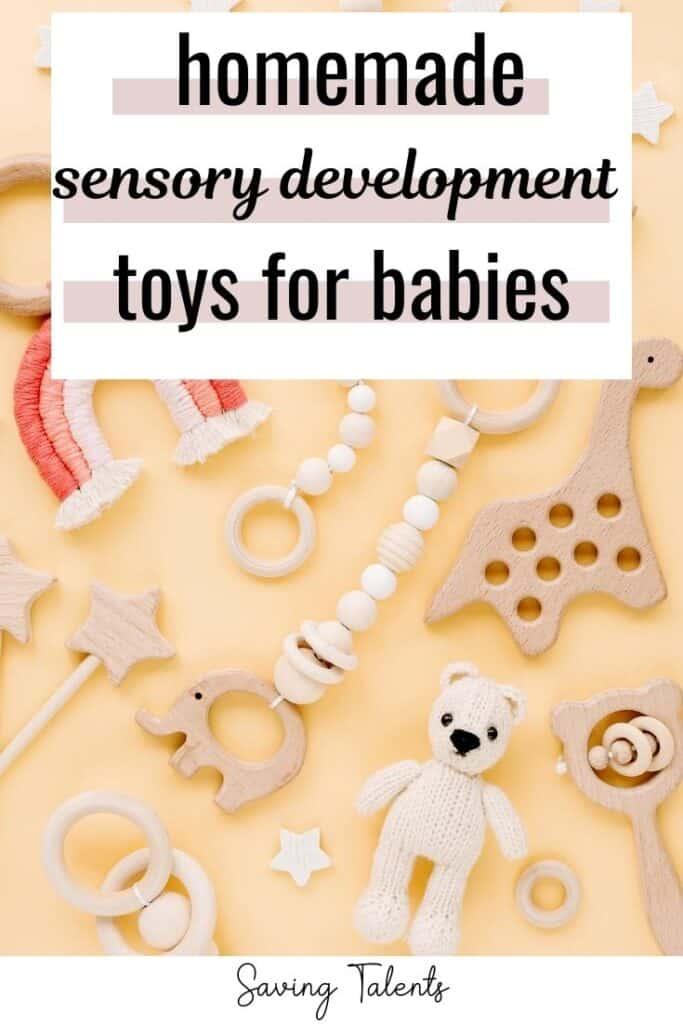 Homemade Sensory Development Toys for Babies