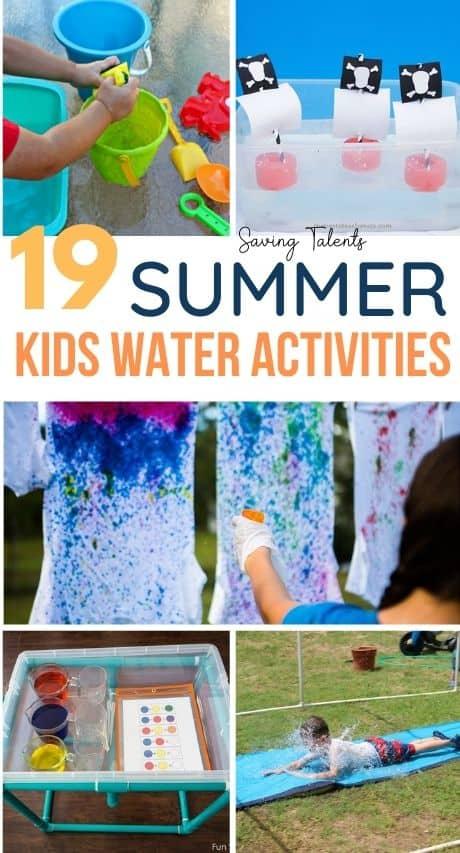 Kids Summer Water Activities – story