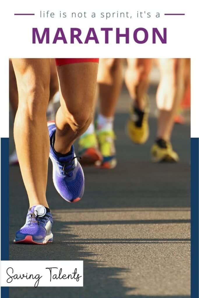 Life is a Marathon - Stop Sprinting