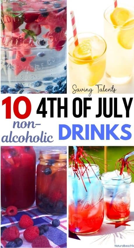Non Alcoholic Patriotic Drinks – story