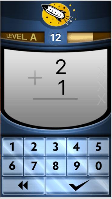 Rocket Math app for kids
