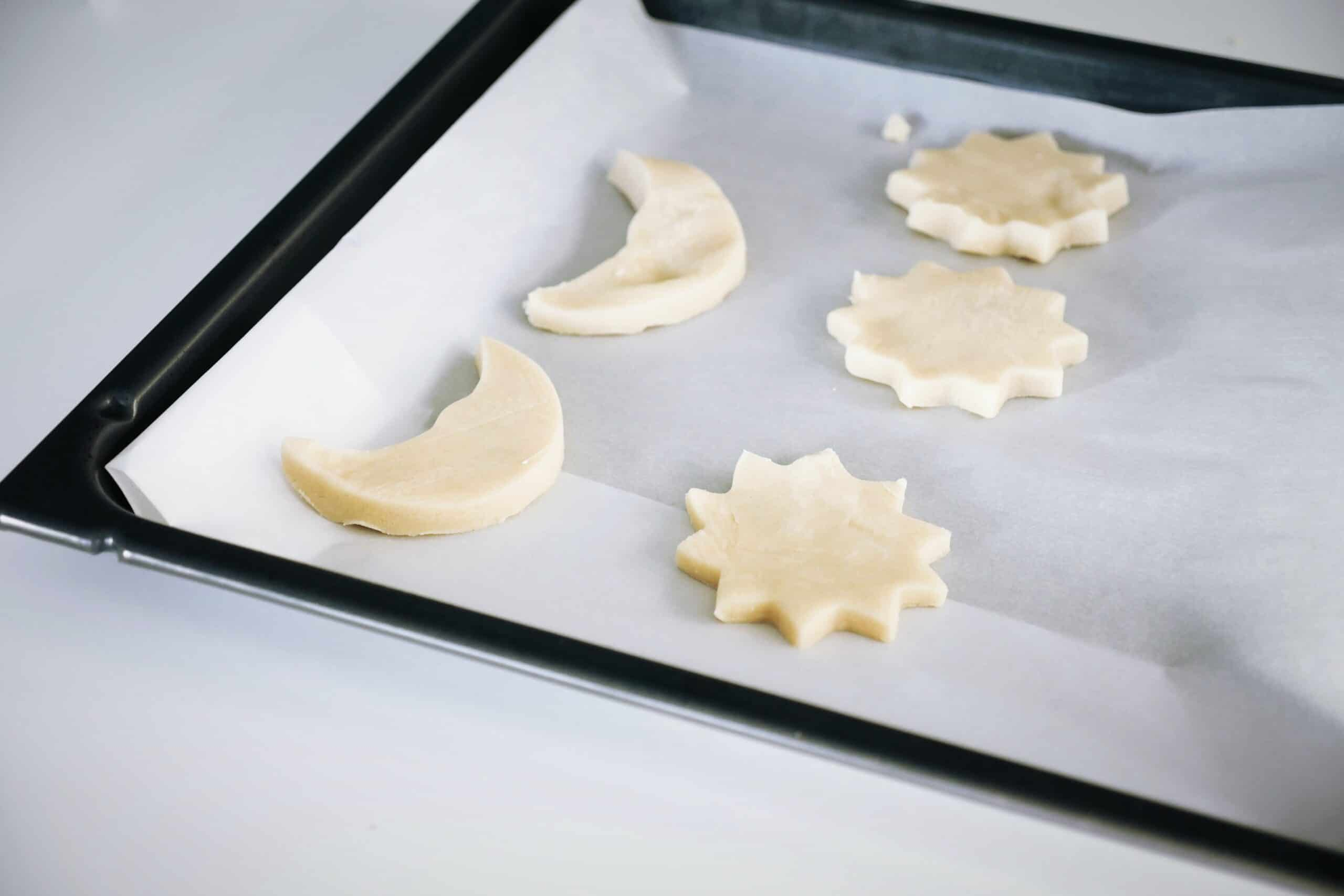 Sour Cream Sugar Cookies with Cream Cheese Frosting