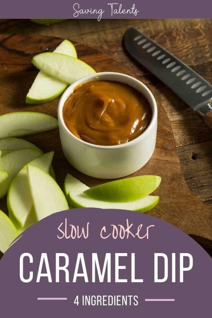 Simple Slow Cooker Caramel Dip (only 4 ingredients!)
