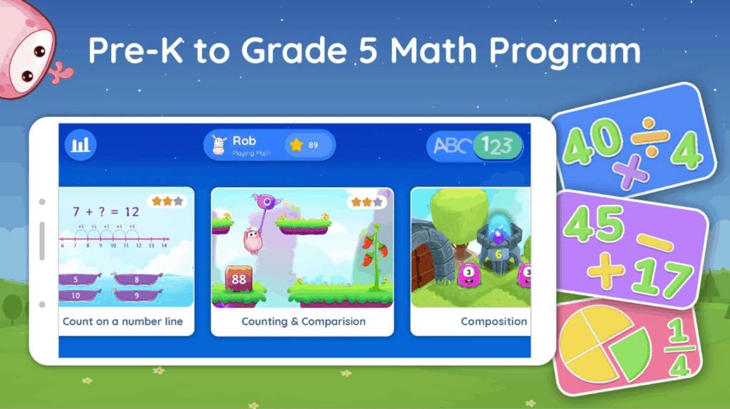 Splash Math app for kids