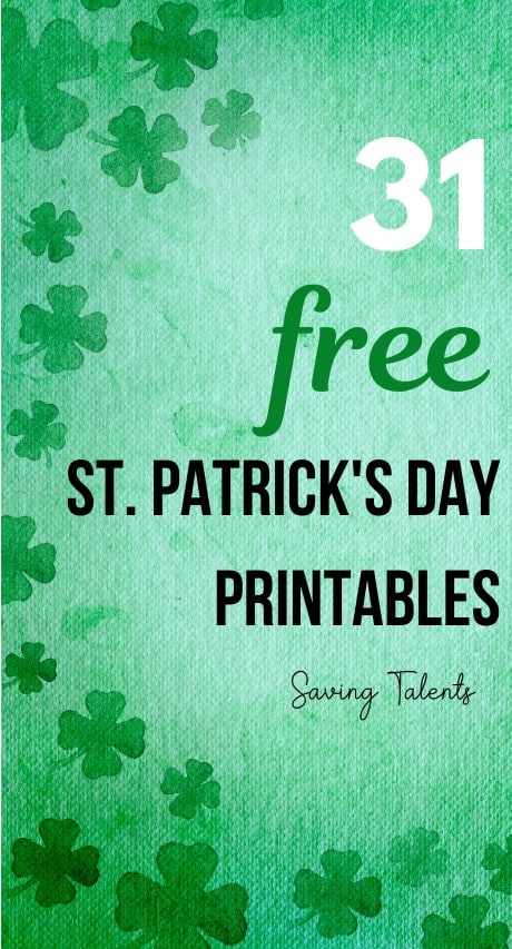 Free St. Patrick's Day Printables story