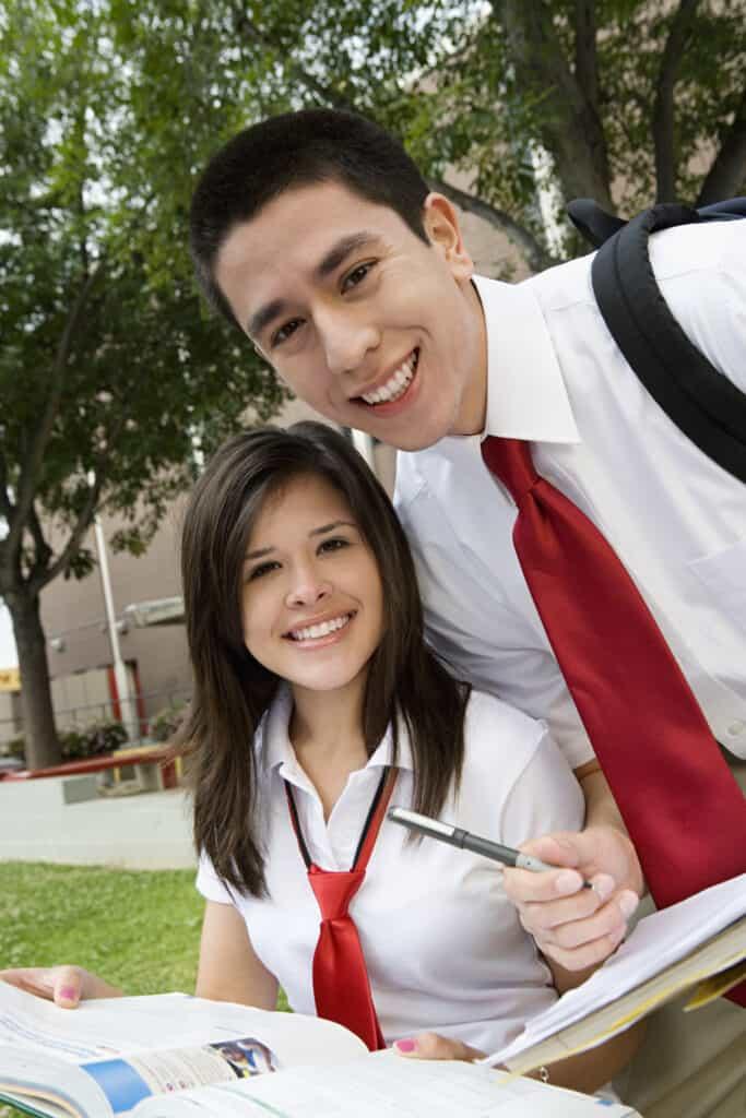 high school homeschooler