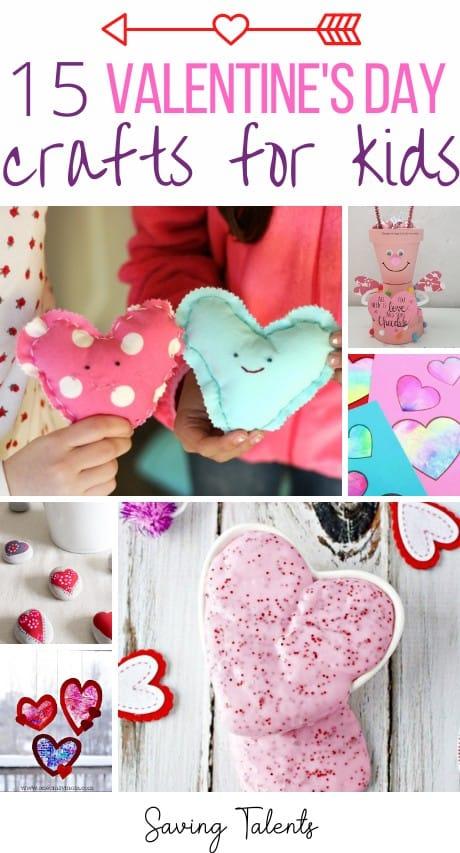 Valentine's Day Kids Crafts Story