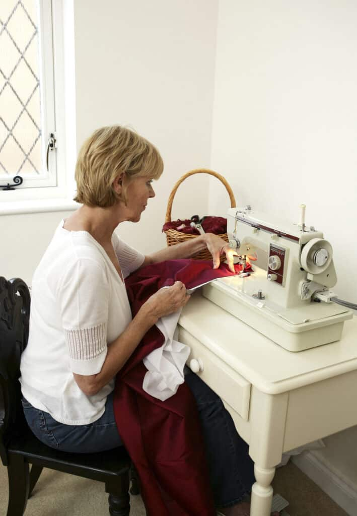 ways to practice self love - hobby sewing