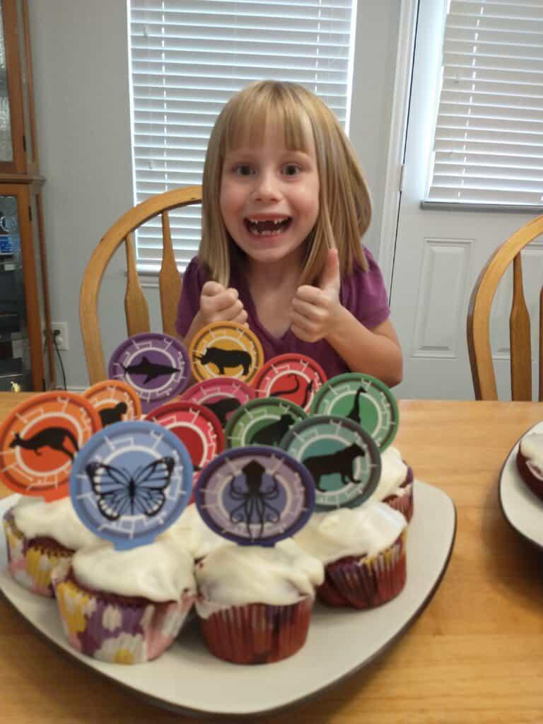 wild kratts birthday party food